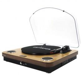 AIWA FM/USB 10W Turntable WOOD | 410008
