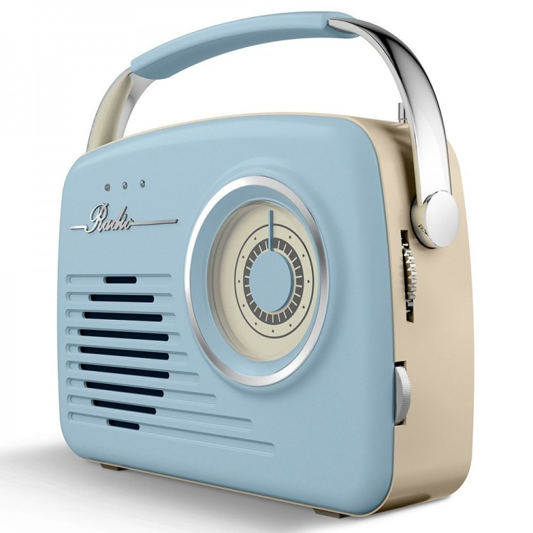 AKAI Vintage Radio BLUE| A60014VT