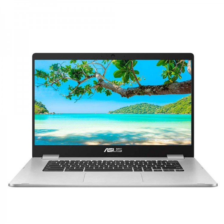 "ASUS Chromebook N3350 15.6"" HD 64GB Laptop 