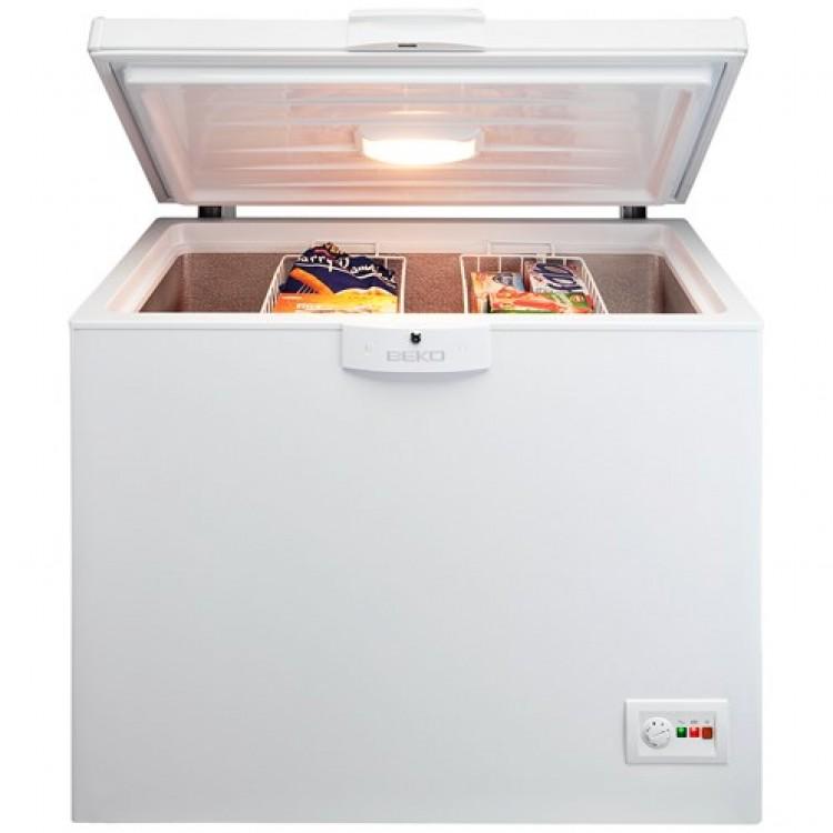 Beko Freestanding 298 Litre Chest Freezer WHITE | CF1100AP