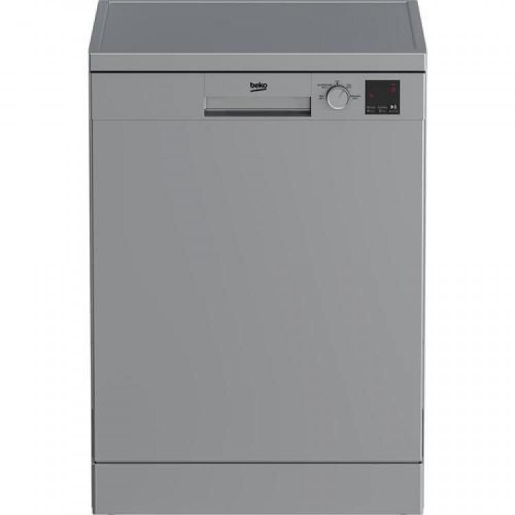 BEKO Fullsize Freestanding Dishwasher SILVER   DVN04320S
