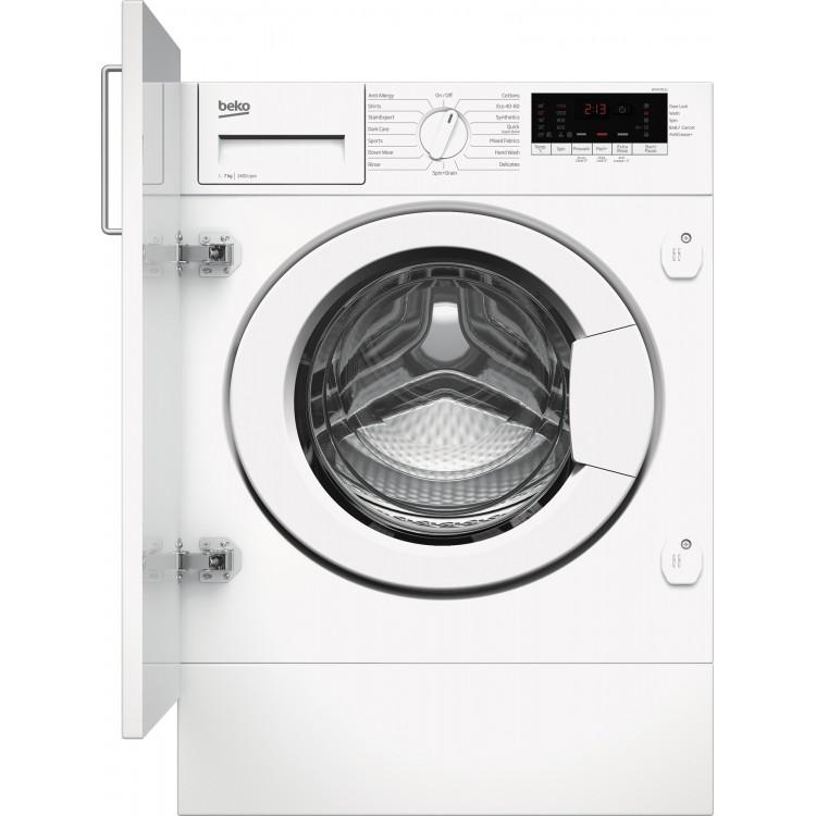 Beko Integrated 7kg Washing Machine WHITE | WTIK74111