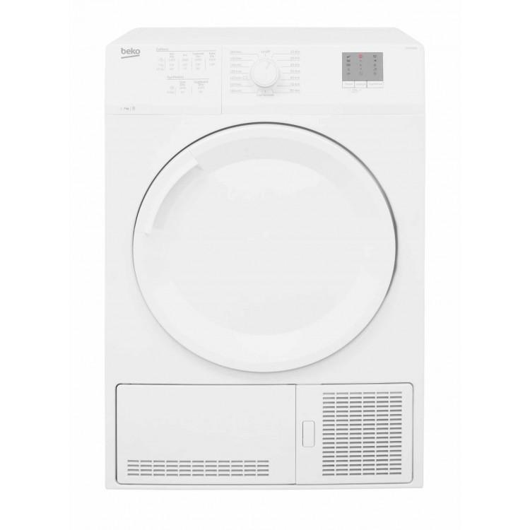 Beko 7KG Full Size Condenser Dryer WHITE | DTGCT7000W