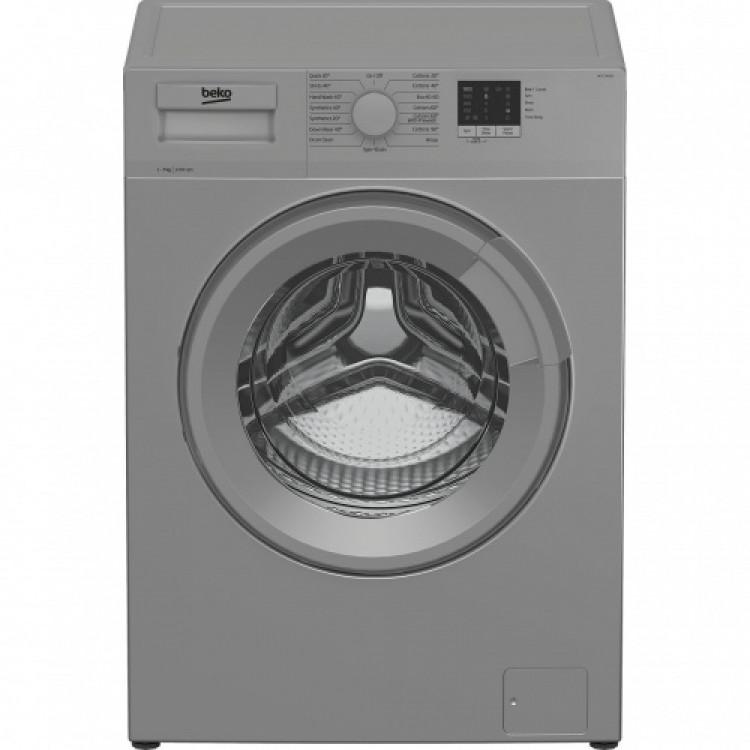 BEKO 7KG 1200 Spin Washing Machine SILVER | WTL72051S