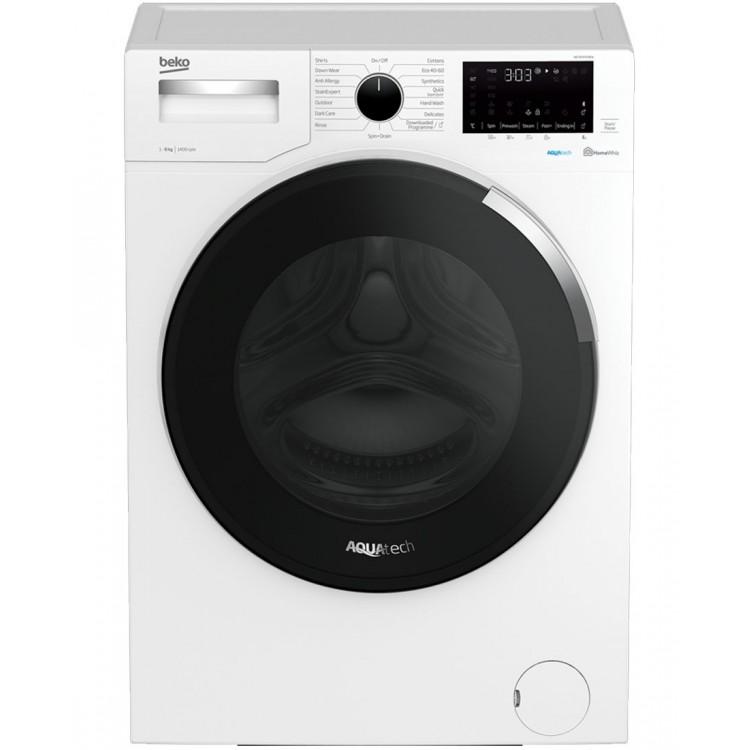 BEKO 8kg AquaTech Washing Machine | WEY84P64EW