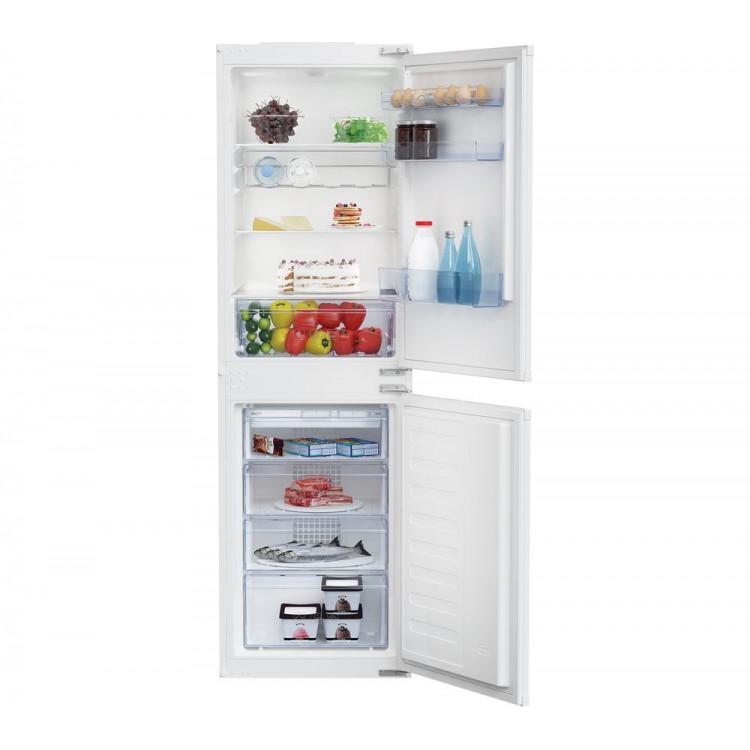 BEKO 50/50 Integrated Combi Frost Free Fridge Freezer | BCFD350