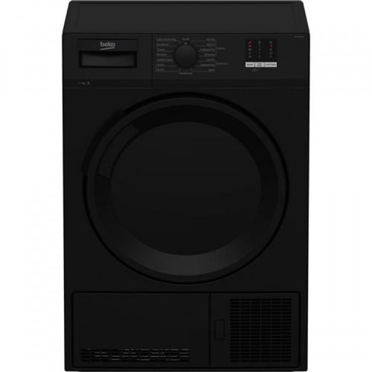 BEKO Freestanding 7KG Condenser Tumble Dryer BLACK | DTLCE70051B