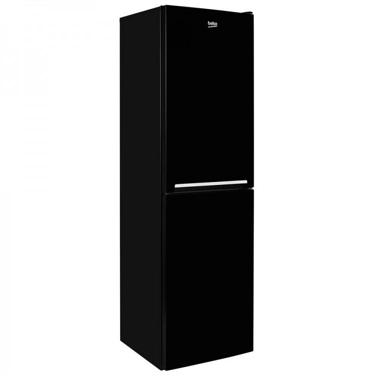 BEKO 55cm Fridge Freezer BLACK | CSG3582B