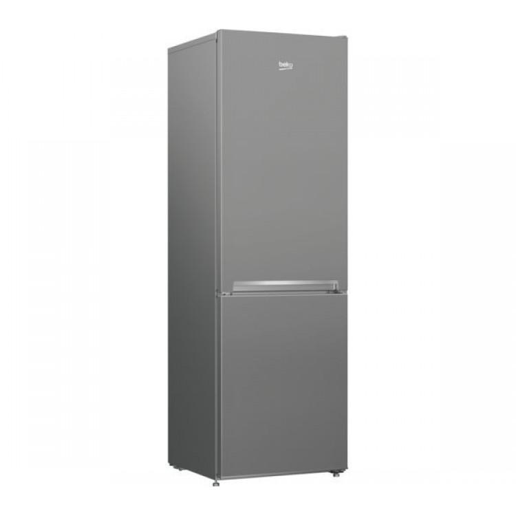 BEKO Freestanding 55cm Fridge Freezer SILVER | CSG3571S