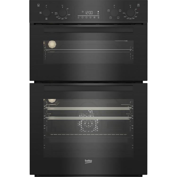 BEKO Double Oven Black | BBDF22300B