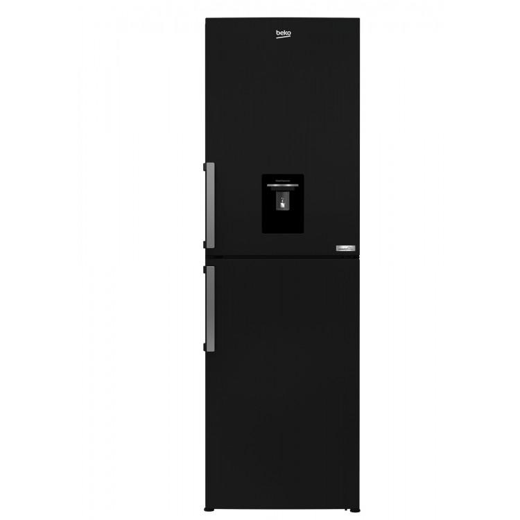 Beko Freestanding Frost Free Combi Fridge Freezer BLACK | CFP3691DVB