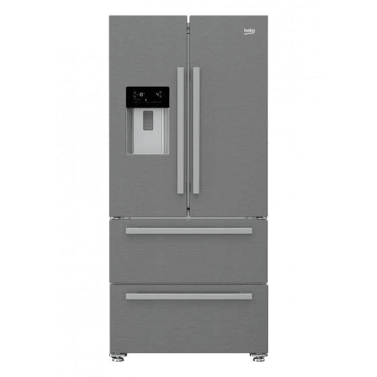 BEKO Freestanding American Style Fridge Freezer | GNE60520DX