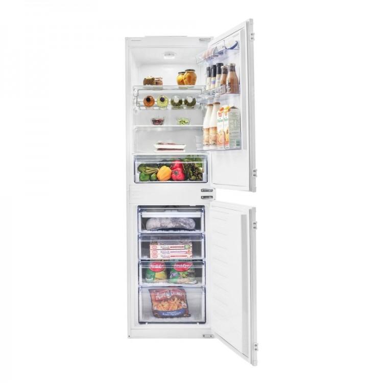 BEKO Integrated Combi Frost Free Fridge Freezer 50/50   BCFD373