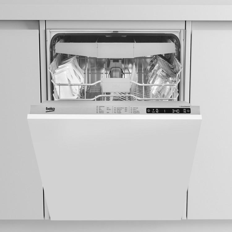 BEKO AquaIntense Fully Integrated Full Size Dishwasher   DIN28R22