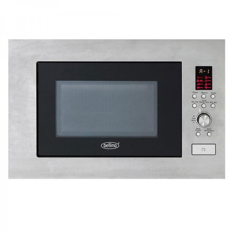BELLING 23L Built-In Microwave STAINLESS STEEL | BIM60STA