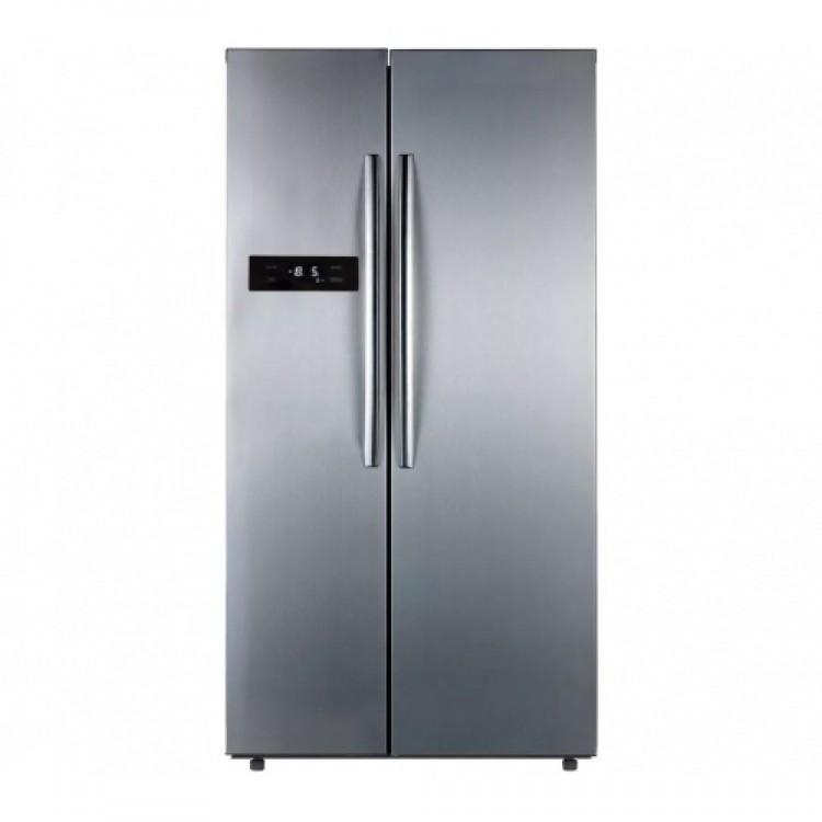 Belling 70/30 No Frost Freestanding American Fridge Freezer STAINLESS STEEL | BAFF526SS