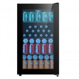 BELLING 480mm Wide Glass Beverage Cooler | BDC76BLK