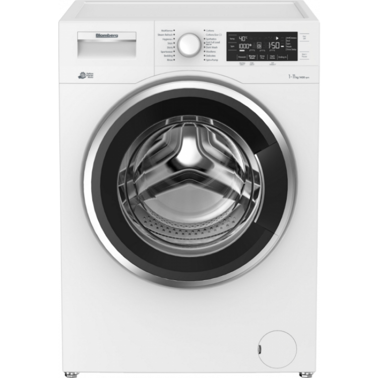 BLOMBERG 11KG 1400rpm Washing Machine With A+++ Energy Rating | LWF3114420W