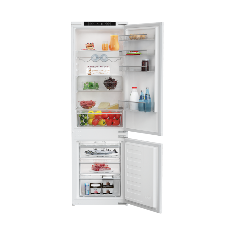 BLOMBERG Integrated 70:30 Frost Free Combi Fridge Freezer | KNM4553EI