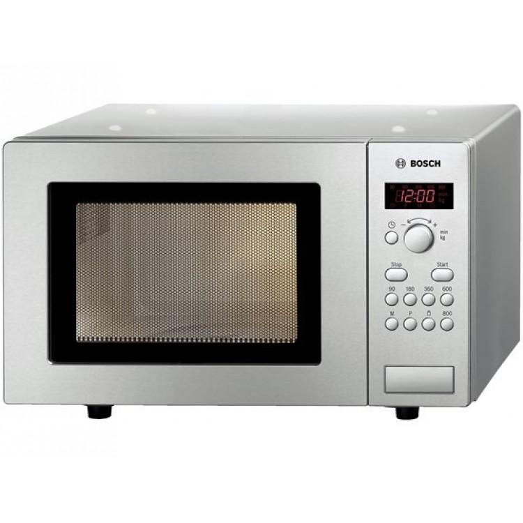 Bosch 17L 800W Microwave Brushed Steel | HMT75M451B
