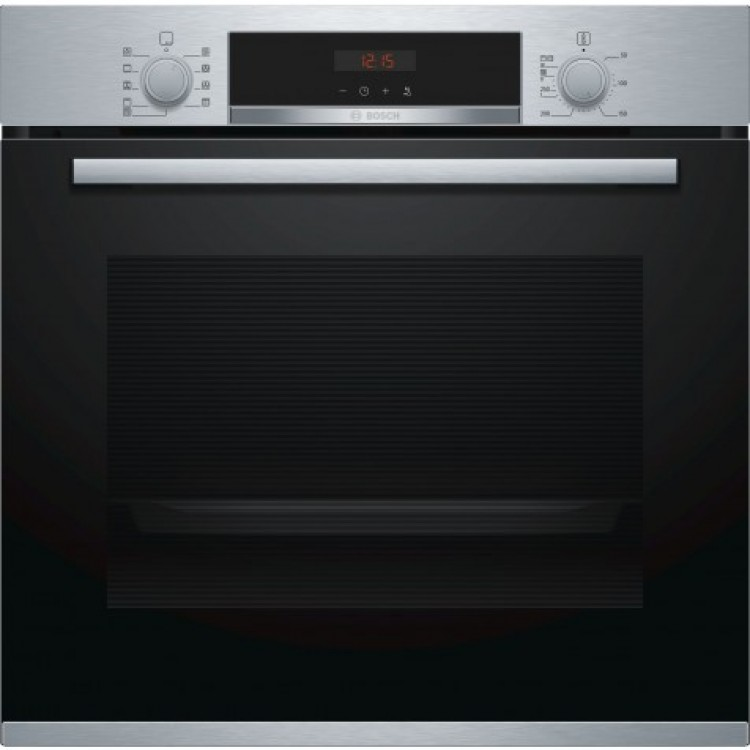 BOSCH Serie 4 built-in oven Stainless steel | HBS573BS0B