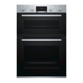 BOSCH Serie 4 Electric Double Oven STAINLESS STEEL | MBS533BS0B