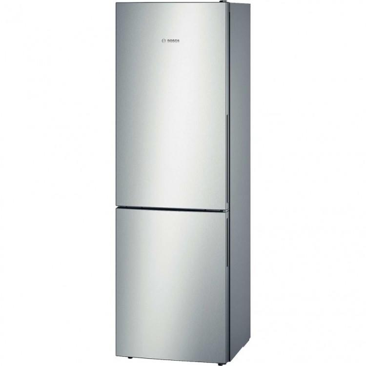BOSCH Serie 4 Freestanding Fridge Freezer 288L A++  Stainless Steel   KGV33VL31G