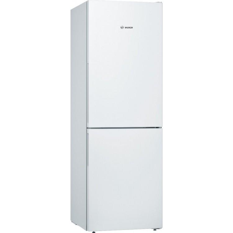 BOSCH Serie 4 Free Standing Fridge Freezer   KGV336WEAG