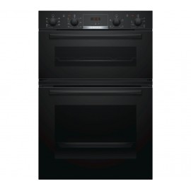 BOSCH Serie 4 Electric Double Oven BLACK | MBS533BB0B