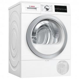 BOSCH Serie 6 8KG Freestanding Heat Pump Condenser Tumble Dryer WHITE | WTR88T81GB