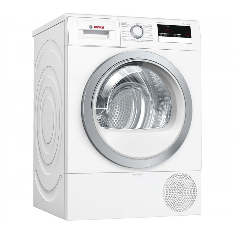 BOSCH Serie 4 8KG Heat Pump Tumble Dryer WHITE | WTR85V21GB