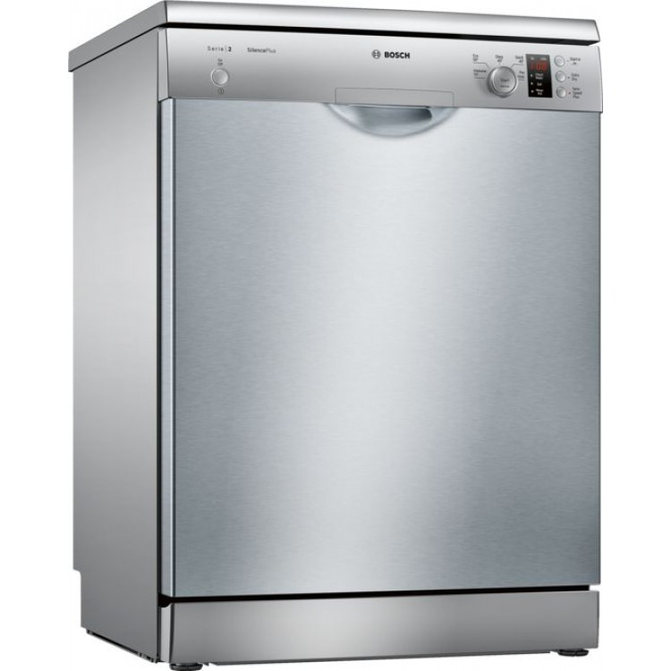 BOSCH Serie 2 Freestanding Dishwasher 60 cm SILVER | SMS25AI00G