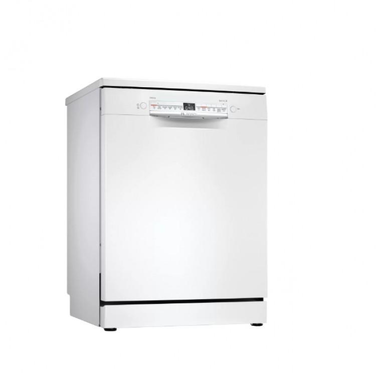 BOSCH Serie 2 Free Standing Dishwasher 60cm WHITE   SMS2HVW66G