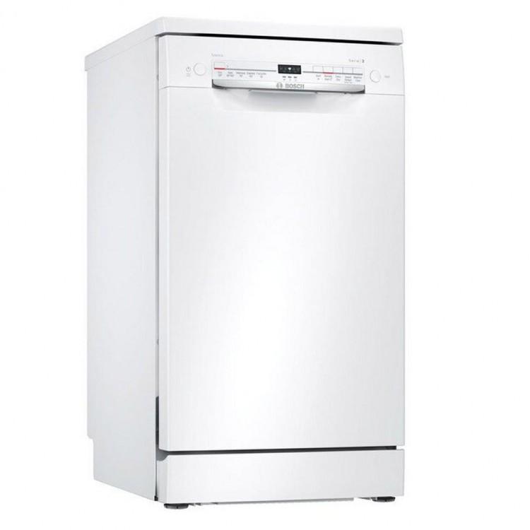 BOSCH Slimline WiFi-enabled Dishwasher WHITE   SPS2IKW04G