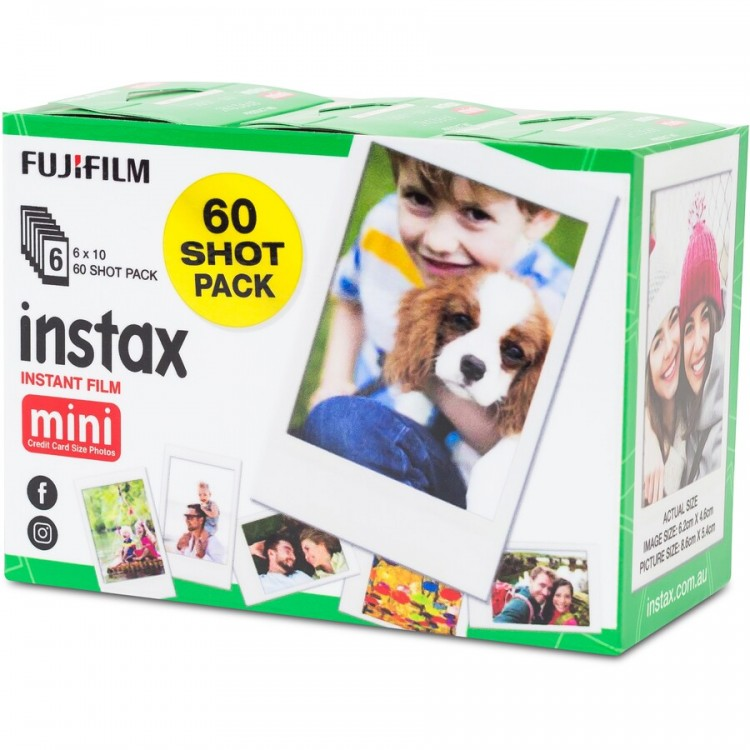 Fuji Instax Mini Film 60 Pack | 401371