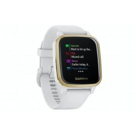 GARMIN Venu SQ Smart Watch WHITE/LIGHT GOLD | 405937