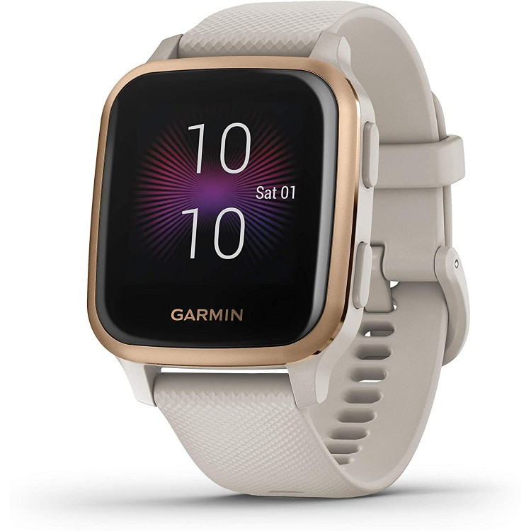 GARMIN Venu SQ Music Edition Smart Watch SAND/ROSE GOLD | 405939