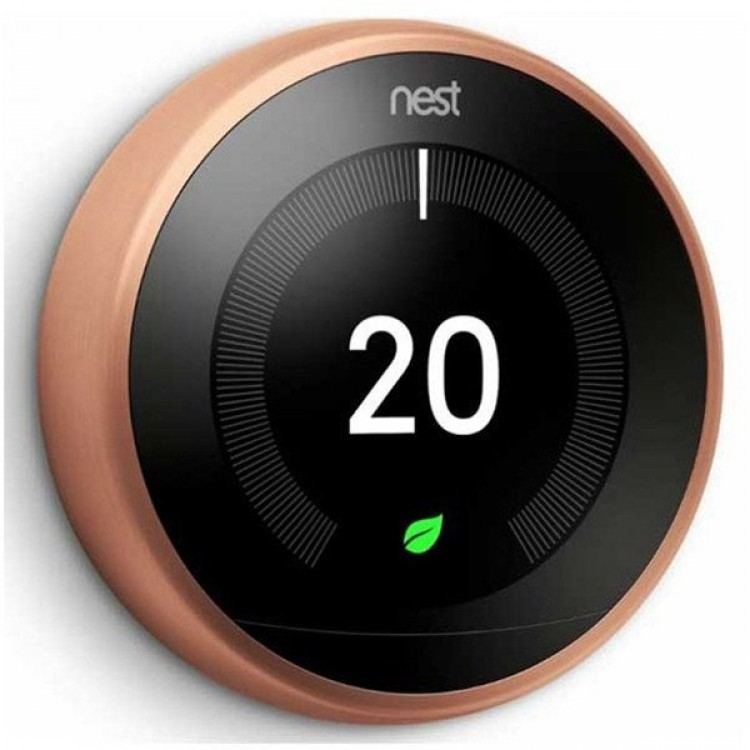 Google Nest Learning Thermostat 3rd Generation COPPER | T3031EX