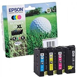 EPSON C13 Golfball 34 Multipack | T34664010