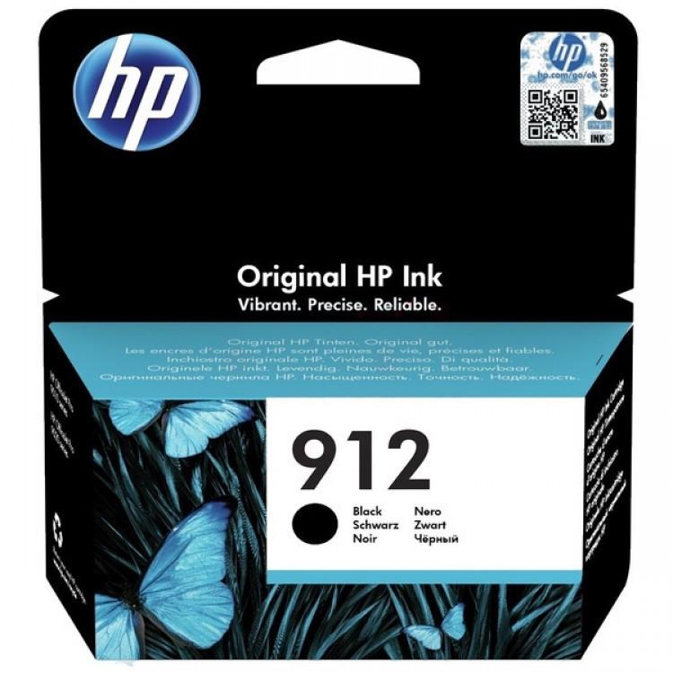HP 912 Ink cartridge 300 pages BLACK   3YL80AE