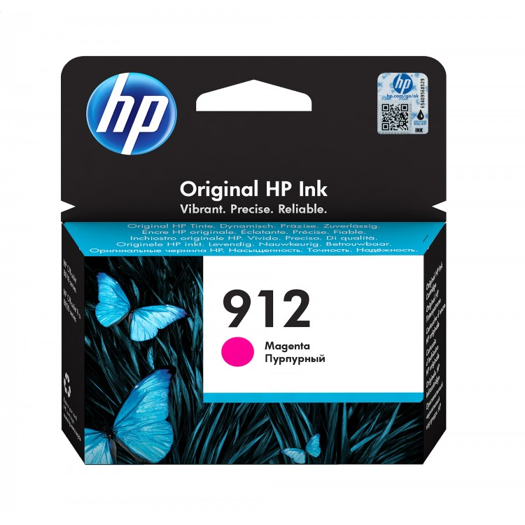HP 912 Ink cartridge 300 pages MAGENTA   3YL78AE