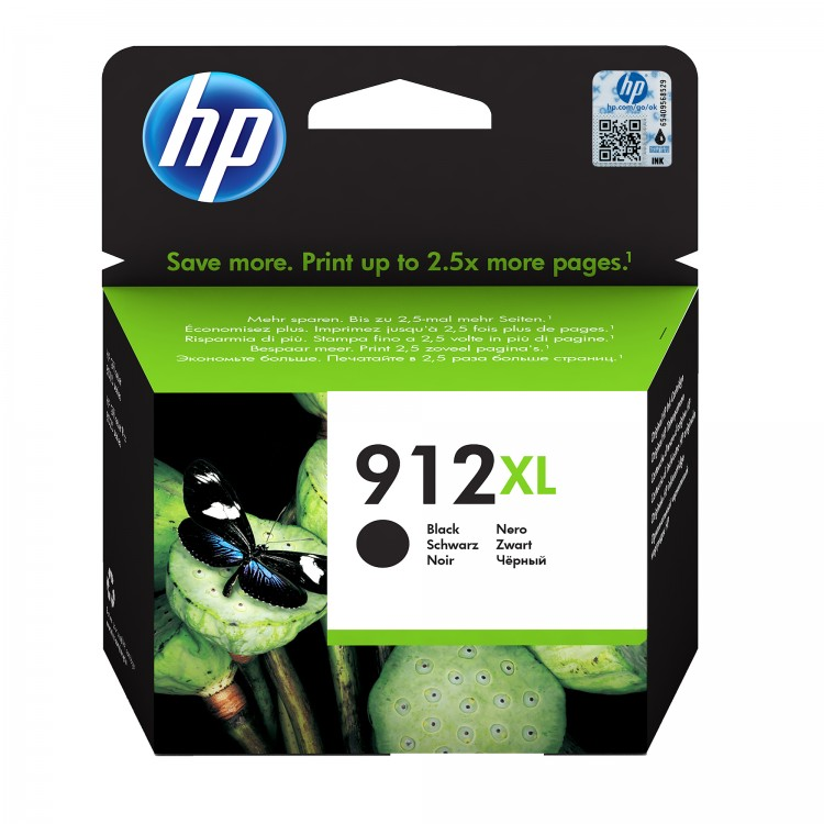 HP 912XL Ink cartridge BLACK   3YL84AE