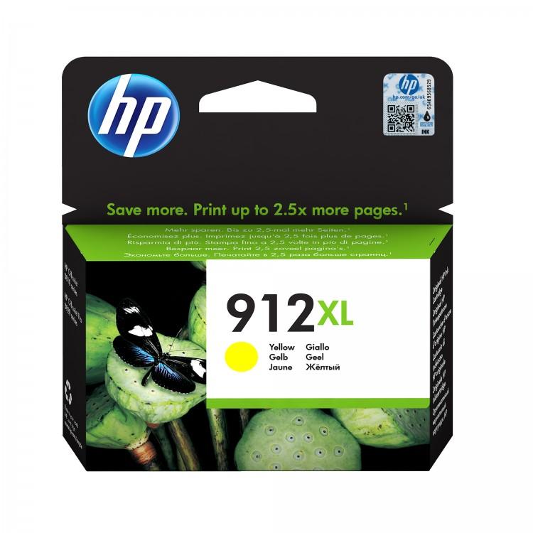HP 912XL Ink cartridge YELLOW   3YL83AE