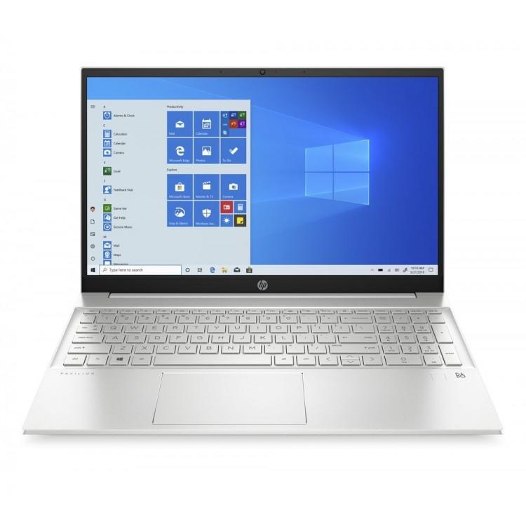 "HP Pavilion 15.6"" 4GB 128GB SSDATHLON 3150U Laptop SILVER | 15-EH0002NA"