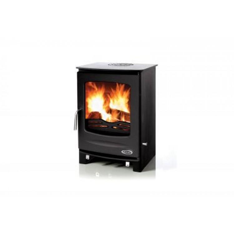 HENLEY Sherwood 8kW Non-Boiler Stove MATT BLACK | 413366