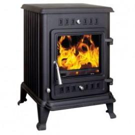 HENLEY Kells 6kW Room Heater Stove MATT BLACK   ST082