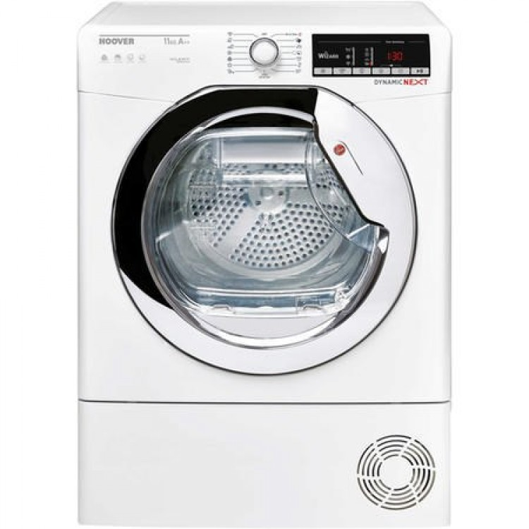 Hoover 11KG Freestanding Heat Pump Tumble Dryer WHITE | DXOH11A2TCEXM-80