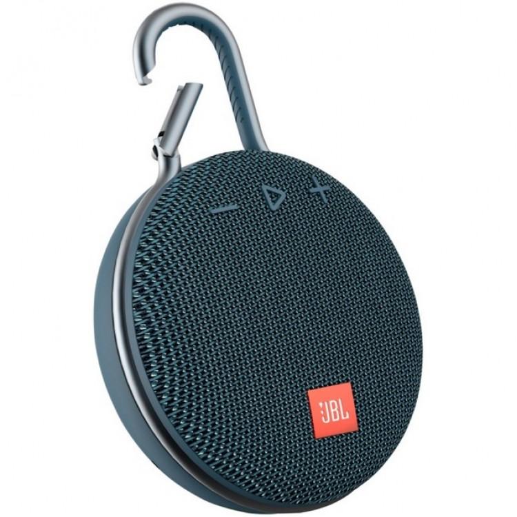 JBL Clip 3 Portable Bluetooth Speaker BLUE | 399142