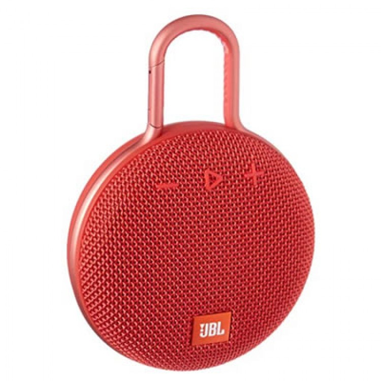 JBL Clip 3 Portable Bluetooth Speaker RED | 399143