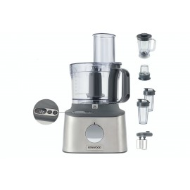 Kenwood Multipro Compact & Food Processor BRUSHED STAINLESS STEEL| FDM312SS